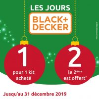 Black + Decker promo
